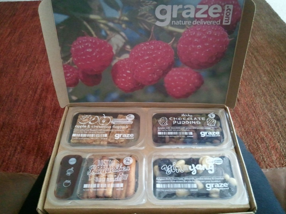 Graze Box Review and Free Box Offer! (4/6)