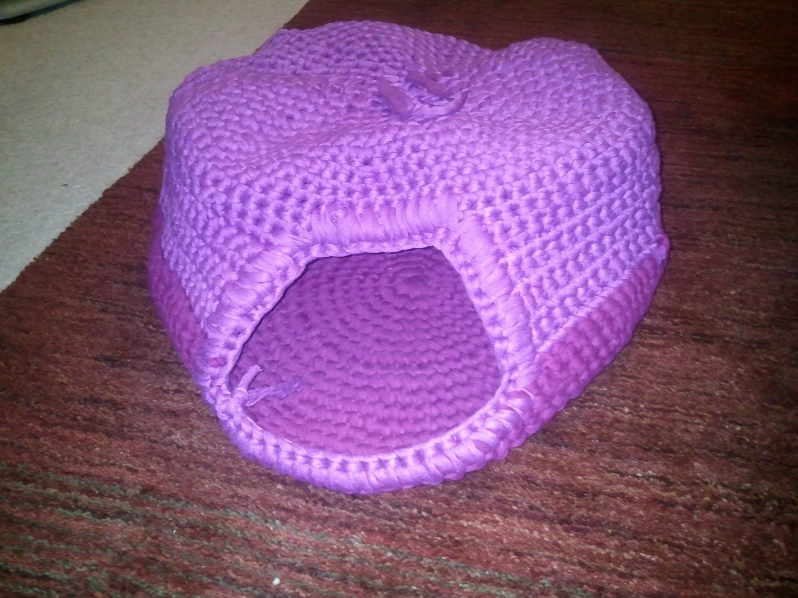 Crochet Pattern For Cat Bed : 301 Moved Permanently