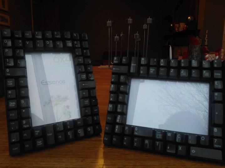 Computer Keyboard Photo Frame Tutorial – Handmade by Hannah