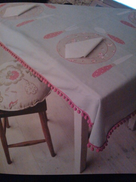 Place Setting Tablecloth