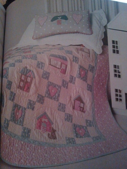 Village Patchwork Quilt