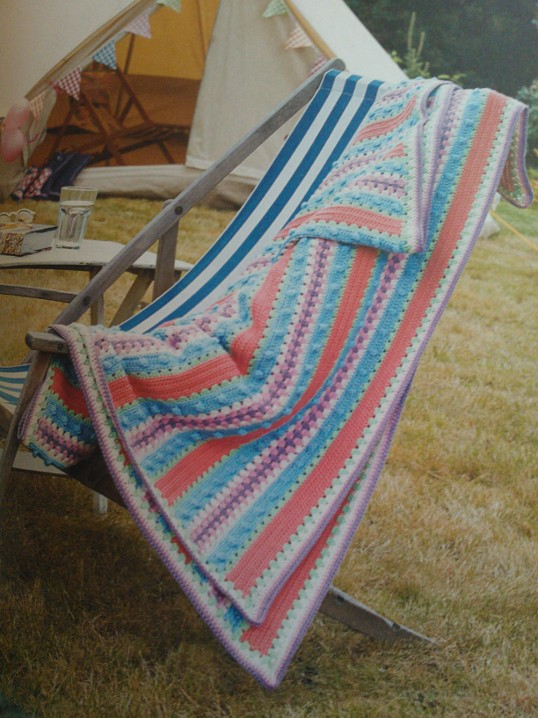 Seaside Crochet Blanket