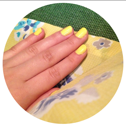 Yellow Nails from Seoul, Korea