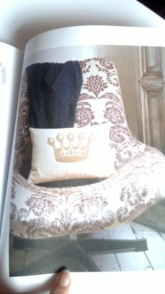 Golden Crown Cushion