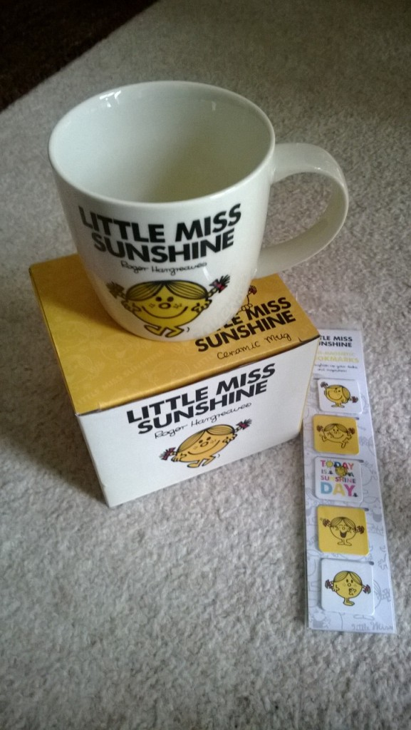 Some Little Miss Sunshine goodies from Charlotte...made me smile :)