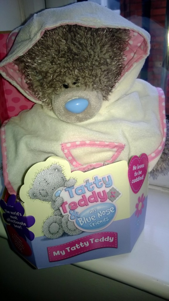 A Me to You Tatty Teddy from my Aunt and Uncle...yes I bought it some clothes...