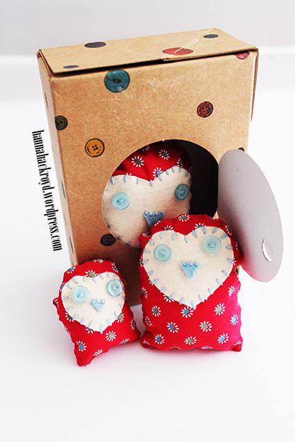 Button Box Owls